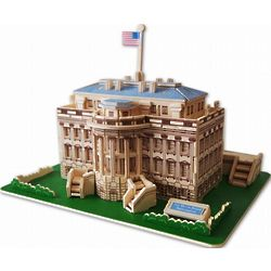 3D White House Jigsaw Puzzle
