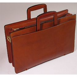 Belting Leather Briefcase