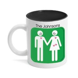 Happy Couple Expecting Twins Mug