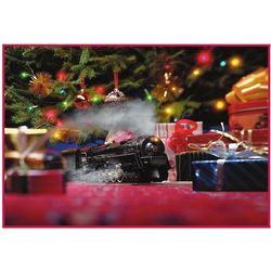 National Railroad Museum Model Train Christmas Card