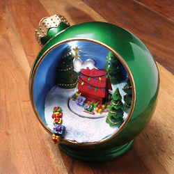 Snoopy Animated Tabletop Ornament