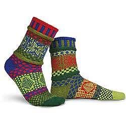 Large Holly Cotton Socks