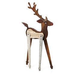 Handmade Reindeer Sculpture