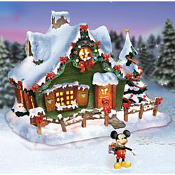 Mickey Mouse's Place Christmas Sculpture