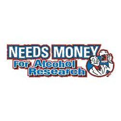 Needs Money Alcohol Research T-Shirt
