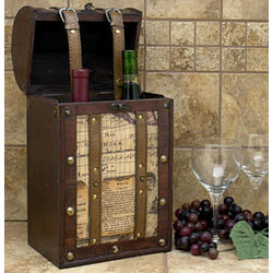 World Traveler Double Bottle Wine Carrier