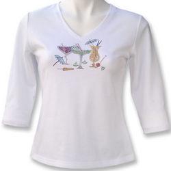 Austrian Crystal Tropical Drinks T-Shirt