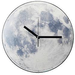 Glowing Moon Clock
