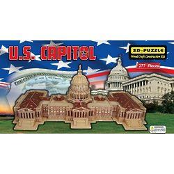 3D US Capitol Jigsaw Puzzle