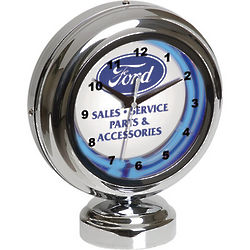 At Your Authorized Service Ford Tabletop Neon Clock