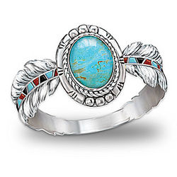 Sedona Sky Turquoise Ring