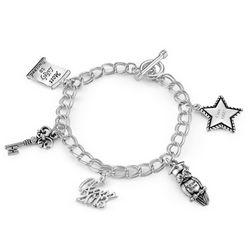 2013 Graduation Charm Bracelet