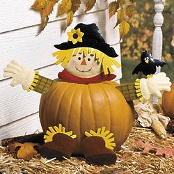 Scarecrow Pumpkin Poke-Ins