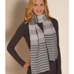 Chic and Cozy Striped Scarf