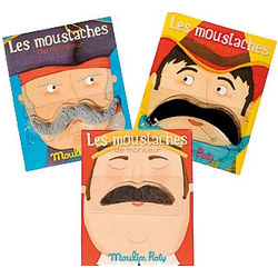 Les Moustaches Stick On Disguise
