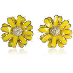 Designer Inspired Daisy Stud Earrings