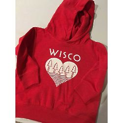 Toddler's Wisco Roots Hoodie