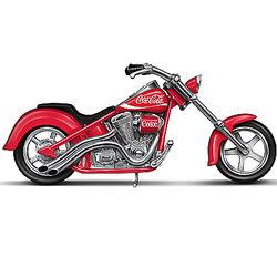 Coca Cola Motorcycle Sculpture