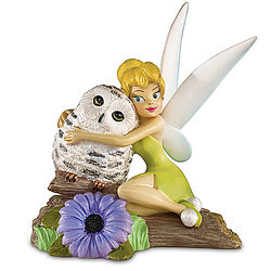 Disney Tinker Bell and Owl Figurine
