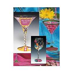 Birthday Girl Martini Gift Set in Gift Bag