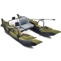 Colorado High-Capacity Pontoon Boat with Padded Seat