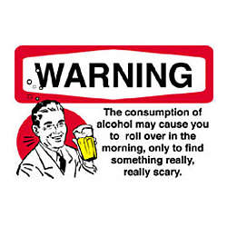 Warning Alcohol T-Shirt