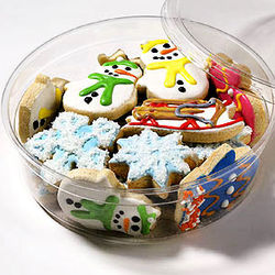 Winter Mini Cookies