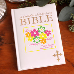 Personalized Catholic Children's First Bible