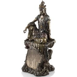 Kuan Yin on Rock Statue