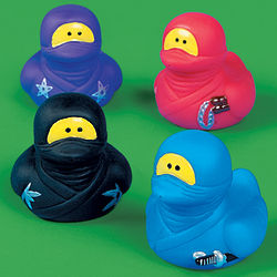 Ninja Rubber Duckies
