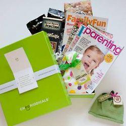 New Baby Magazines and Snacks Cheeriodical Gift Box