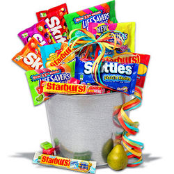 Wrigley's Fruit Candy Bucket