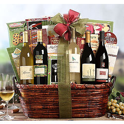 Wine Tasting Party Gift Basket