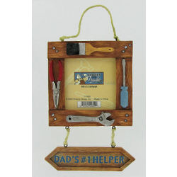 Mr. Fix It Dad's #1 Helper Picture Frame