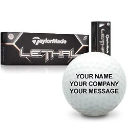 Personalized Lethal Golf Balls