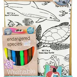 Endangered Species Color Me Eco-Pack Backpack