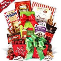 Deck the Halls Gourmet Gift Tin