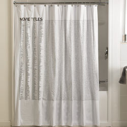 Hollywood Word Search Shower Curtain