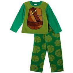 Ninja Turtles Big Boy's Character Fleece Pajama Set