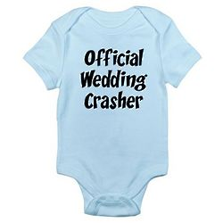 Wedding Crasher Infant Bodysuit
