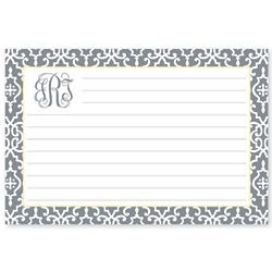 Personalized Wrought Iron Recipe Cards