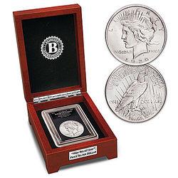 High Relief 'God' 1922 Silver Dollar Coin