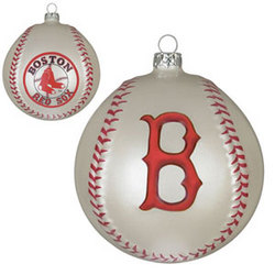 Boston Red Sox Baseball Ornament