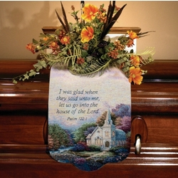 'Church in the Country' Memorial Scarf