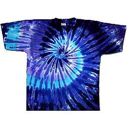Twilight Spiral Tie Dye T-Shirt