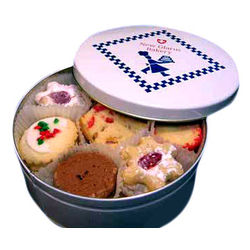 Assorted Butter Cookie Gift Tin