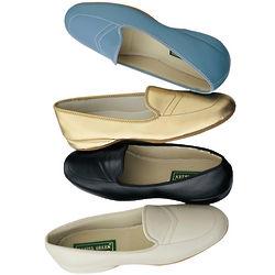 Meg Leather Slippers
