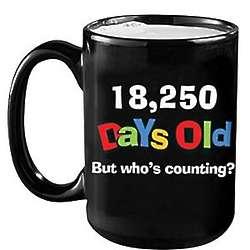 Personalized So Many Days Old Mug