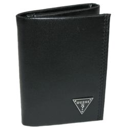 Men's Leather Credit Card Trifold Wallet