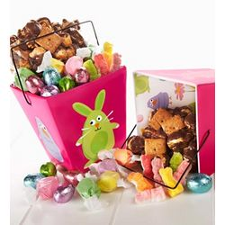 Pair of Easter Friends Candy Take-Out Totes